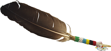 ceremonial eagle feather